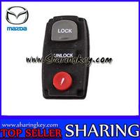 3 Button remote Rubber Pad for mazda
