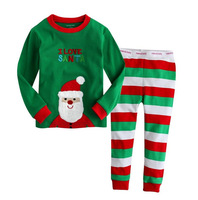 Baby kids Christmas sleepwear suits toddler cartoon pajamas Children 100% cotton long sleeve pajamas sets 2-7Y free shipping