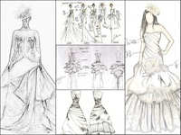 LIMITED EDITION FERVENT LOVE Noble Qualities Luxury Enjoyment !FANLAN Custom-made Wedding Dress Designer Gown
