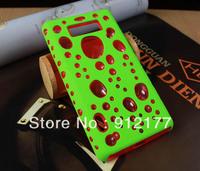 PC+Gel 2 in 1 Case Bubble Design Hard Case Cover For LG L7 Optimus P700 P705 + Screen Protector