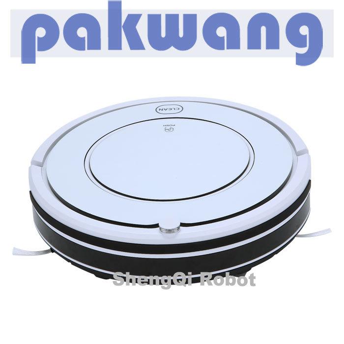 Mini Robot Vacuum Cleaner Pure White SQ-KK8 Air Duct Cleaning Equipment(China (Mainland))