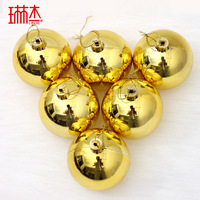 Christmas ball 8cm christmas ball 1 bag light 6 ball plated ball Christmas decoration