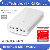 Original Brand YOOBAO mobile power Bank YB-636/YB636 charge treasure 7800mah+LED Flashlight+retailed package + free shipping