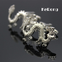 NEW ARRIVAL Men's shirt cufflink Dragon cuff link men's gift rf-01 High quality