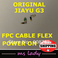 New Original power on/ off flex cable for JIAYU G3 G3s FPC Button smart cell  Free shipping Airmail + tracking code