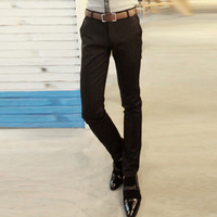 2013 spring fashion men's clothing trousers male casual pants male