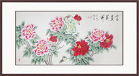 Traditional chinese painting peones modern decorative painting chinese style paintings
