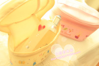 Le su e sugar small rabbit cartoon rabbit small cosmetic bag storage bag