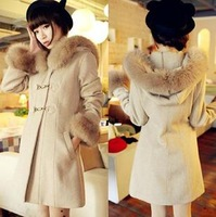 2013 New Woolen Fashion Sexy Winter Outerwear
