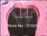 "6A grade 3 parts closure virgin Brazilian lace top closures 4x4"" silk straight bleached knots closure color 1b free shipping"