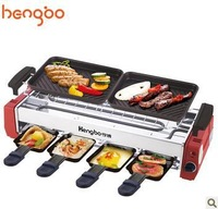 SC-508A household Korean smokeless barbecue multifunction household electric grill and griddles Free shipping