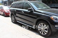 Benz GL350/450/550,2013,Side Step Bar Running Board, Automobile Accessories Decoration,Free Shipping
