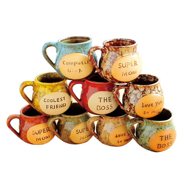drinkware Japanese style ceramic cup large zakka mug cup of milk breakfast cup freeshipping