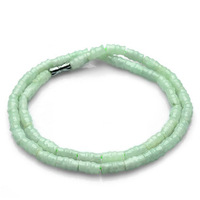 Free shipping authentic products bamboo shape jadeite jade necklace