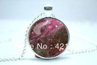 10pcs/lot Galaxy Necklace, Heavenly Nebula Pendant, Stars And Universe Jewelry  7
