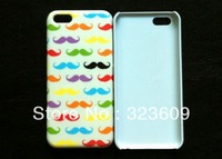 Hot US free shipping New arrivals New products High quality Fashion Beard Pattern Hard Case for iphone 5C