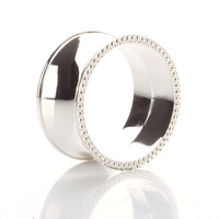 100pcs/lot . eyes button table napkin ring table napkin buckle princess silver