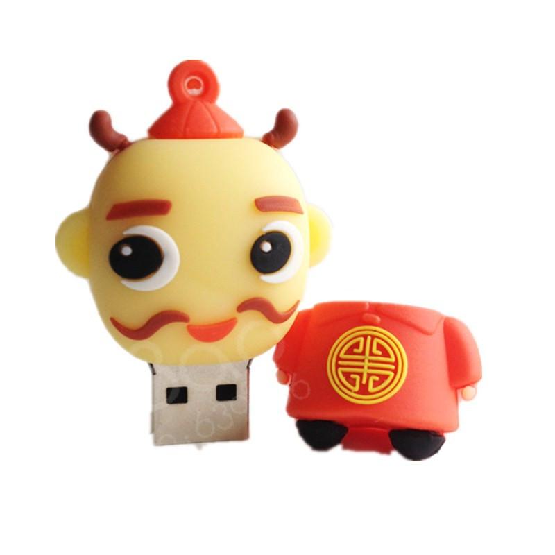 U disk pendrive cartoon Landlord pendriver 8gb 16gb 32gb 64gb 128gb 256gb farmer pen drive usb flash drive gift external storage(China (Mainland))