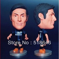 Inter Milan Football Club Player Zanetti Legend Super Star Soccer Figure Doll Action Furnishing Articles