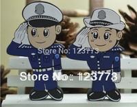 New cartoon police model usb flash drive pendrive memory policeman /policewoman
