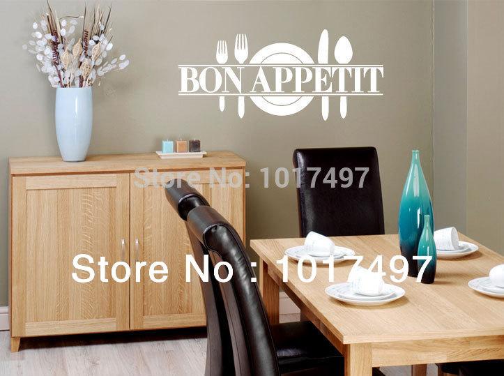 Muurstickers Keuken Bon Appetit : Modern Kitchen Wall Decor