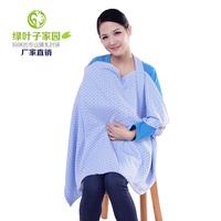 Nursing cover Green leaves 001 nursing scarf nursing clothing aprons outdoor lactication nursing breast feeding