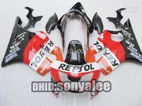 7 Gifts, REPSOL fairings for HONDA CBR600F4 1999-2000 CBR 600F4 CBR600 F4 600 F4 99 2000 1999 00 fairing kit