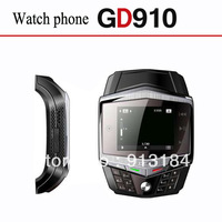 GD910 Quad Band Mobile Phone Watch1.55 inch TFT Touch Screen Support MP3/MP4,Bluetooth,FM Radio,Numberic Keyboard