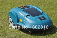2015 Newest Automatic Robot Lawn Mower With Pressure Sensor,Language Option,Subarea Setting Function,Remote control,Auto charge