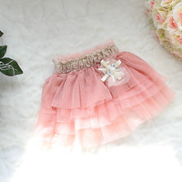 Hot-selling 2013 Spring and Summer Kid's Skirts,Princess Skirts,Senior Chiffon Fabrics,4 Pieces/lot, Free Shipping