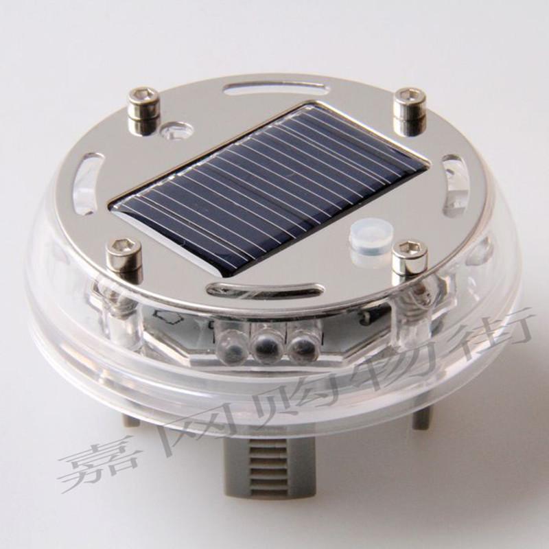 Hot-selling solar car decoration lamp rim light tyre light wind fire wheels solar flash lamp(China (Mainland))