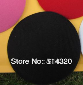 B006 Black Circle Round Millinery Hat Fascinator and Headpieces Base DIY Craft 11cm 2/lot(China (Mainland))