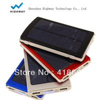 10000MAh solar portable charger External Battery for ipad iphone smart phone , Solar power bank for Samsung Galaxy S3 S4