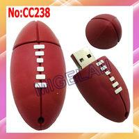 Free shipping Wholesale 1GB 2GB 4GB 8GB 16GB 32GB 64GB Rugby USB Flash Memory Pen Drive Sticks,usb flash #CC238