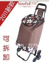 Climb building optimal Finn card ~ the new six car shopping cart removable folding shopping trolleys