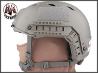 Military Tactical Equipment ABS Foliage Green Airsoft Paintball Base Jump Helmet free shipping