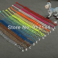 Newest 10 Colors Pure Bud Silk Shape Italy Lace Bracelets Jewelry 50PCS/LOT Free Shipping