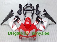7 Gifts, free shipping red silver black body for HONDA CBR 600 CBR600 F4i 01 03 2001 2002 2003 ABS bodywork & windscreen e34432