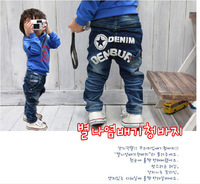 Retail+Free shipping Boys jeans Children pants Korean straight style Baby denim jeans,Fashion and Cute Jeans for Boys,SA0033R