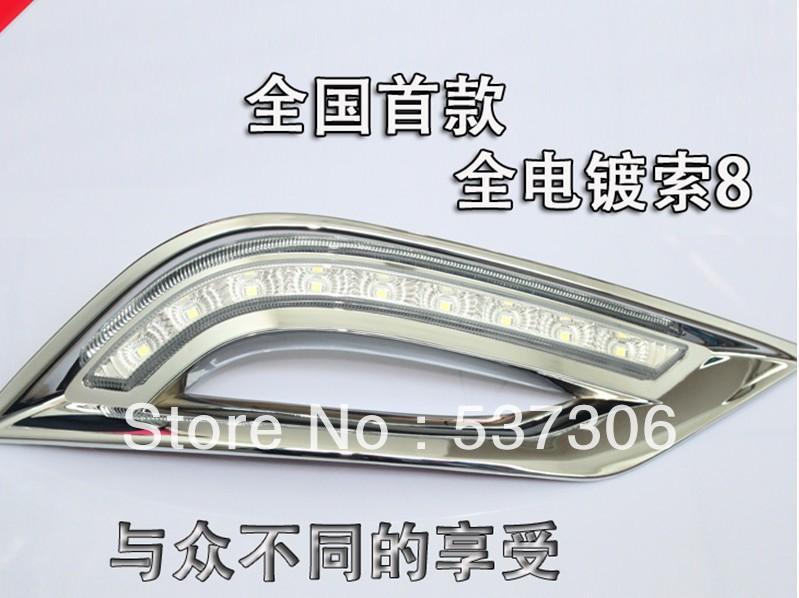 Дневные ходовые огни Cadillac ! 2011 Hyundai , 2 /, 6000 7000K дневные ходовые огни hyundai 2pcs set 15w 12v 6000k