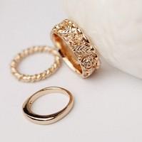 New! three-Piece  Ring 3pieces/set Jewelry J1599