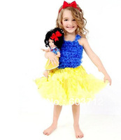 Retail Fashion Baby Kids Girls Fluffy Dance Pettiskirts set Cute Chiffon Tutu Princess dress Christmas Halloween Party Wear