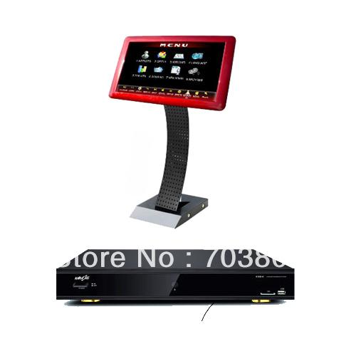 Red 19 inch touch screen monitor+Professional Karaoke Ultimate KJ/DJ and VJ Club System,karaoke player.karaoke machine(China (Mainland))
