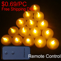 Cheap Led Tea Lights Remote Control Battery Operated Led Lights Bulk Flameless Tea Lights Wholesale For Candle Gift Set