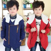 2013 winter boys clothing girls clothing child wadded jacket outerwear cotton-padded jacket cotton-padded jacket thickening