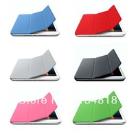 3 Folding Leather Case for iPad Air Smart Cover Back Stand Case For iPad 5 Tablet  free shipping