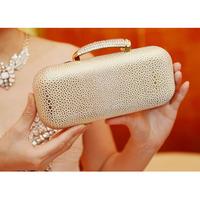 2013 evening bag fashion star diamond shaping women's handbag evening dress clutch
