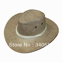 Free Shipping fashionable faux suede fabric Mexican cowboy hats, HC3007