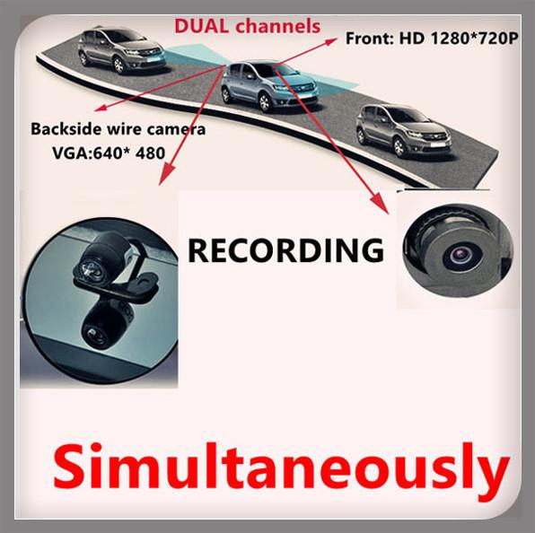 Автомобильный видеорегистратор VOICECAR 4,3/tft LCD hd dvr gps dvr bluetooth автомобильный видеорегистратор no a11 2 7 hd 1080p 120 tft lcd dvr