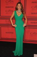 2013 Euro Type free Fast Shipping sheath Straps tank v-neck green Sofia Vergara celebrity dresses long with draped
